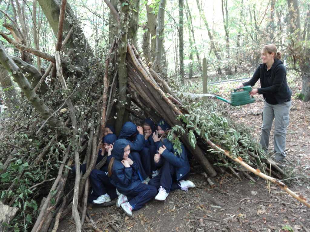 year 6 visit to cuffley camp outdoor centre