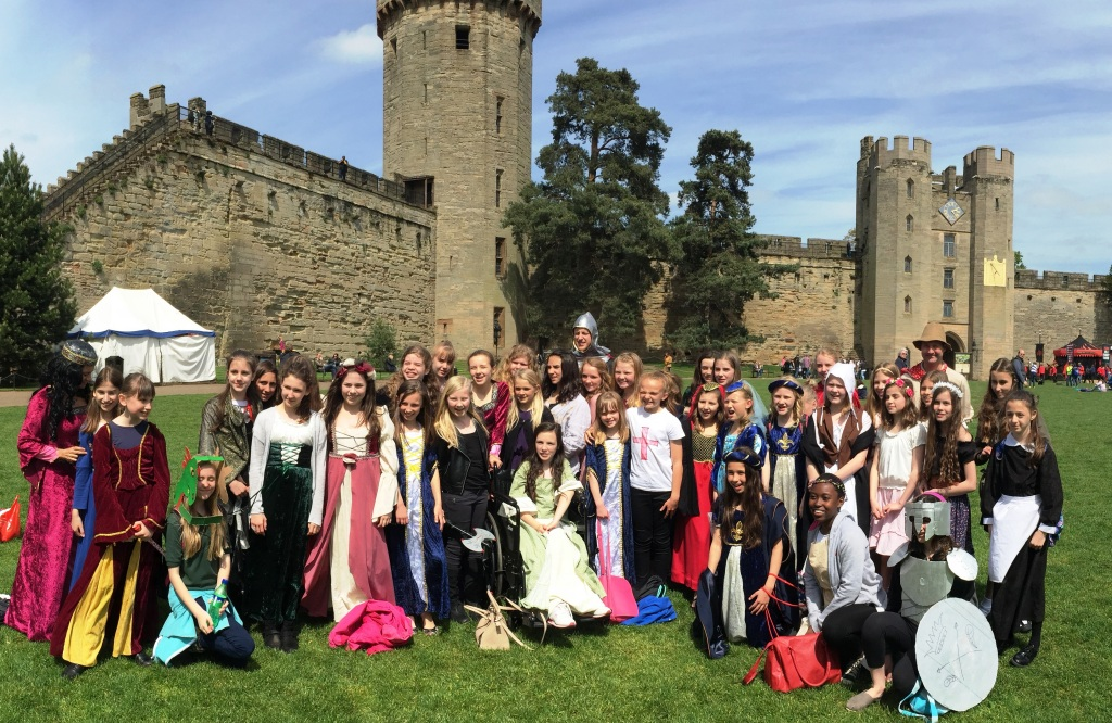 Year 7 trip to Warwick Castle - Abbot's Hill