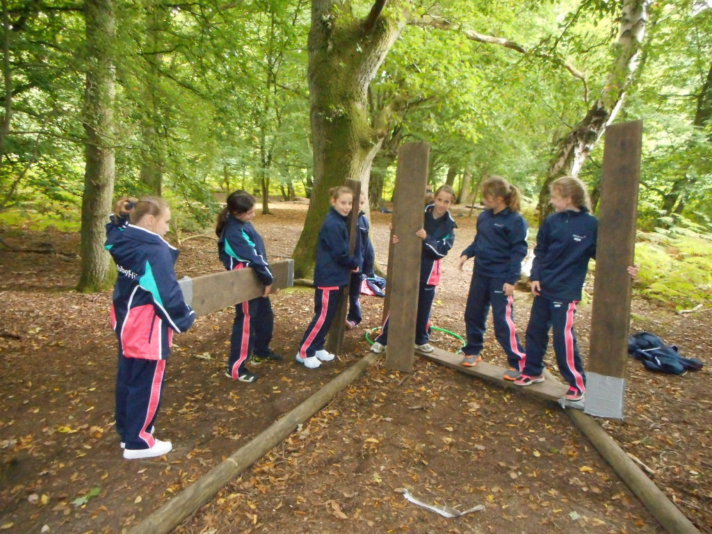 year 6 visit to cuffley camp